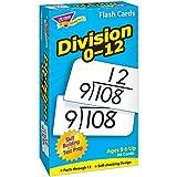 Trend Enterprises T-53106BN Division 0-12 Skill Drill Flash Cards, 3 Sets