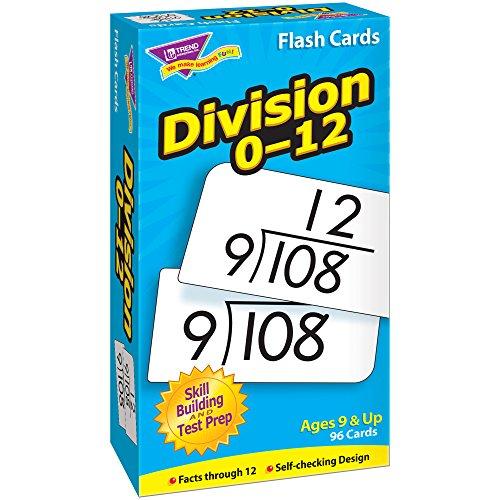 Trend Enterprises T-53106BN Division 0-12 Skill Drill Flash Cards, 3 Sets by TREND Enterprises
