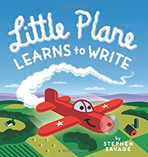 Book Cover: Little Plane Learns to Write