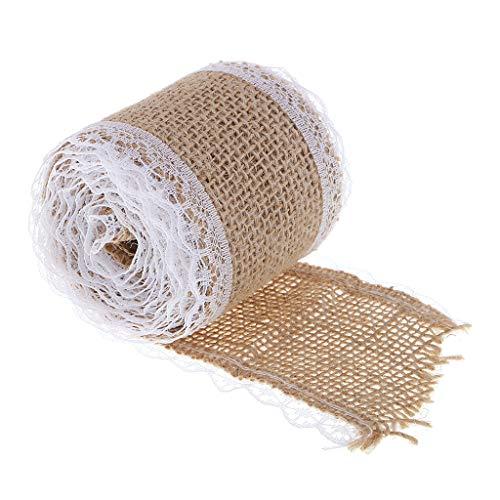IPOTCH 2m リボン トリム ファブリック DIY 縫製 手芸用品の商品画像