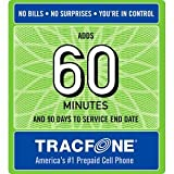 #5: Tracfone 60 Minute Card + 90 days of Service - Airtime Card Refill - PIN # Number (Tracfone USA Only)