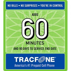 Tracfone 60 Minute Card   90 Days Of Service   Airtime Card Refill   Pin   Number  Tracfone Usa Only