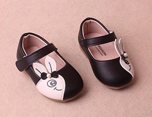 Schuhe Cartoon Mädchen Kinder Sandalen Schuhe Ostern Schuhe Kaninchen Cartoon Kaninchen Prevently Casual Einzelne Schuhe Mädchen Mädchen Schwarz Baby Sneaker Kleine gqZPUwvzPx