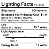 """12W 6"""" Ultra-thin Recessed Ceiling Light with Junction Box, Dimmable Can-killer Airtight Downlight, 850lm 100W Equivalent ETL-listed and Energy Star Certified, 3000K Warm White, Pack of 6"""
