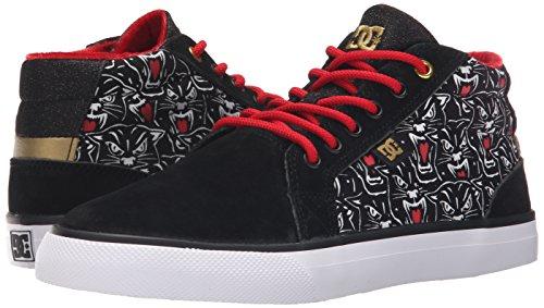 X Us Skate Dc Council Shoe Mid Print Women's Black Tr Print M 10 PqPZgHtBwX