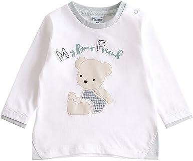 NEWNESS Camiseta Algodón Bebe Niño 3-24 Meses: Amazon.es: Ropa y ...