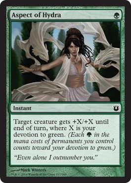 Aspect of Hydra ~ MTG Magic the Gathering