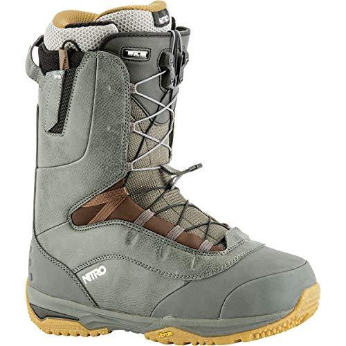 Nitro Venture TLS Pro Snowboard Boot - Men's Charcoal, 10.5 - Nitro Snow Boots