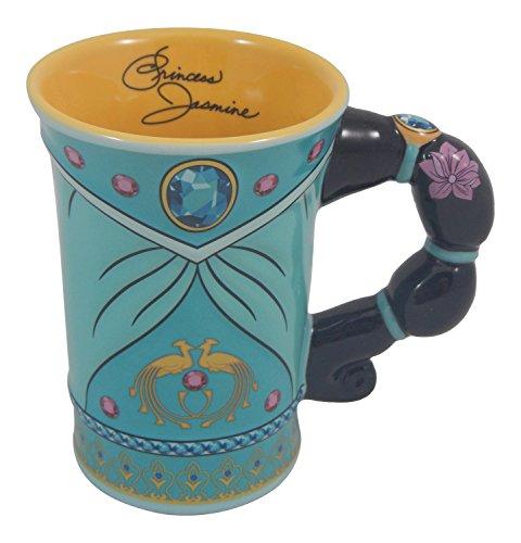 Disney Parks Jasmine from Aladdin Dress Ceramic Mug NEW