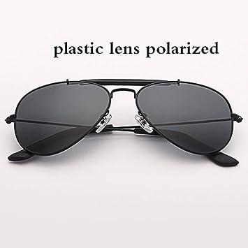 Gafas De Sol Polarizadas Gafas De Aviación.58Mm Lente De ...