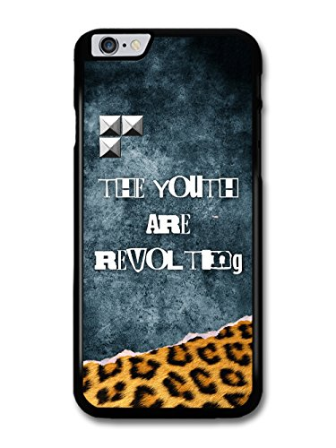 The Youth are Revolting Quote Punk Anarchy Goth Grunge wiht Leopard Print case for iPhone 6 Plus 6S Plus