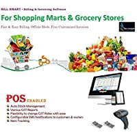 BILL SMART Inventory Management Accounting Billing Invoice Software For All Grocery Stores & Marts