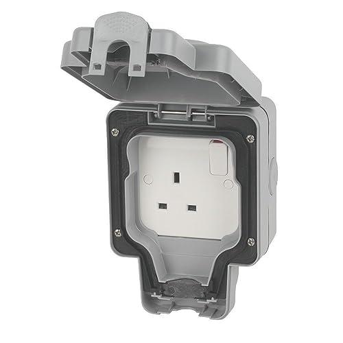Schneider Gwpiu3020 Weatherproof External Twin Switch