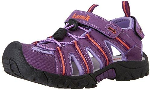 Kamik Iguana Sandal (Little Kid/Big Kid), Purple, 4 M US Big Kid