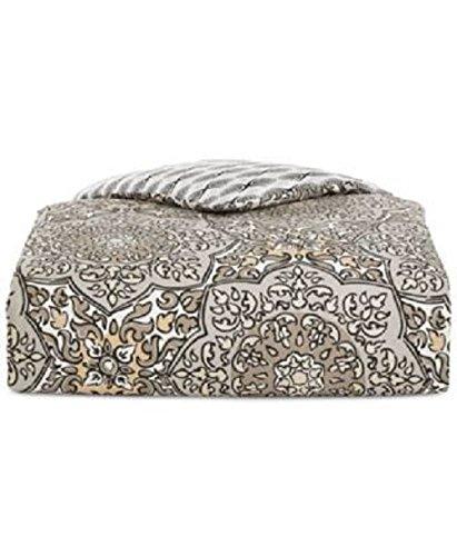Twin//Twin XL Comforter Set Martha Stewart Collection Bohemian Rhapsody Reversible Seashore Tan 2-Pc