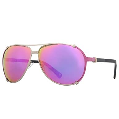 Dior N6E Gold Fuchsia Black Chicago2 Aviator Sunglasses Lens Category 3 Lens Mi