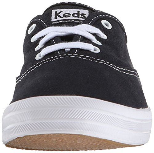 black Champion Women's UK Top Text 5 9 Sneakers Core Black Keds Low Bqnfd78B