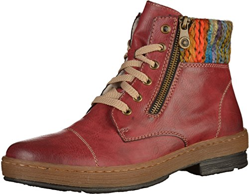 Rieker Woman Boot Rouge Eagle Wine rrwfAq