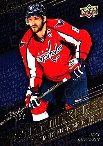 (CI) Alex Ovechkin Hockey Card 2017-18 Tim Hortons Stat Makers 8 Alex Ovechkin
