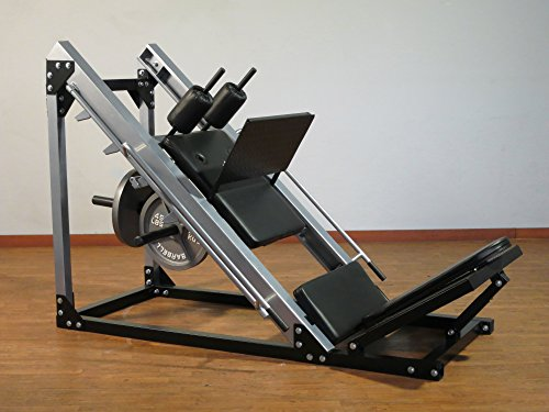 Model HLS2000 Hack Squat/Leg Press by Yukon Fitness