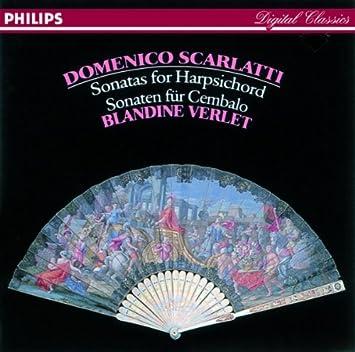 Domenico Scarlatti, Blandine Verlet - Scarlatti: Sonatas for Harpsichord - Amazon.com Music
