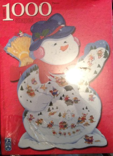 Snowman  Winter Carnival 1000pc Puzzle by F.X. Schmid