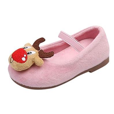 QinMM Kinder Baby Kleinkind Mädchen Weihnachten Schuhe, Deer