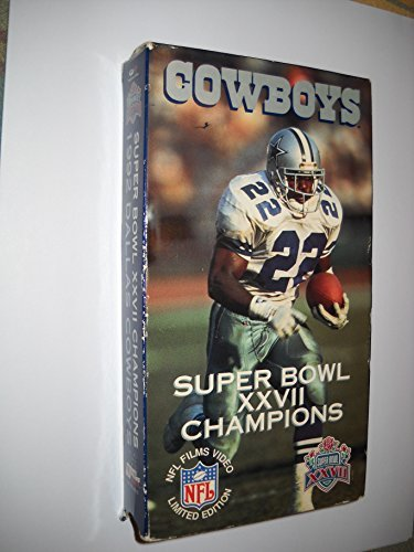 1992 Dallas Cowboys: Super Bowl XXVII Champions [VHS]