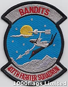417th armas US Air Force los bandidos de escuadrón bordado parche