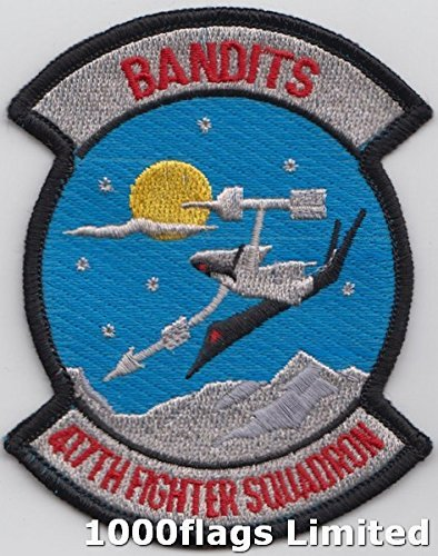 Us Air Force Squadron Patches - 417th Weapons Squadron US Air Force The Bandits Embroidered Patch