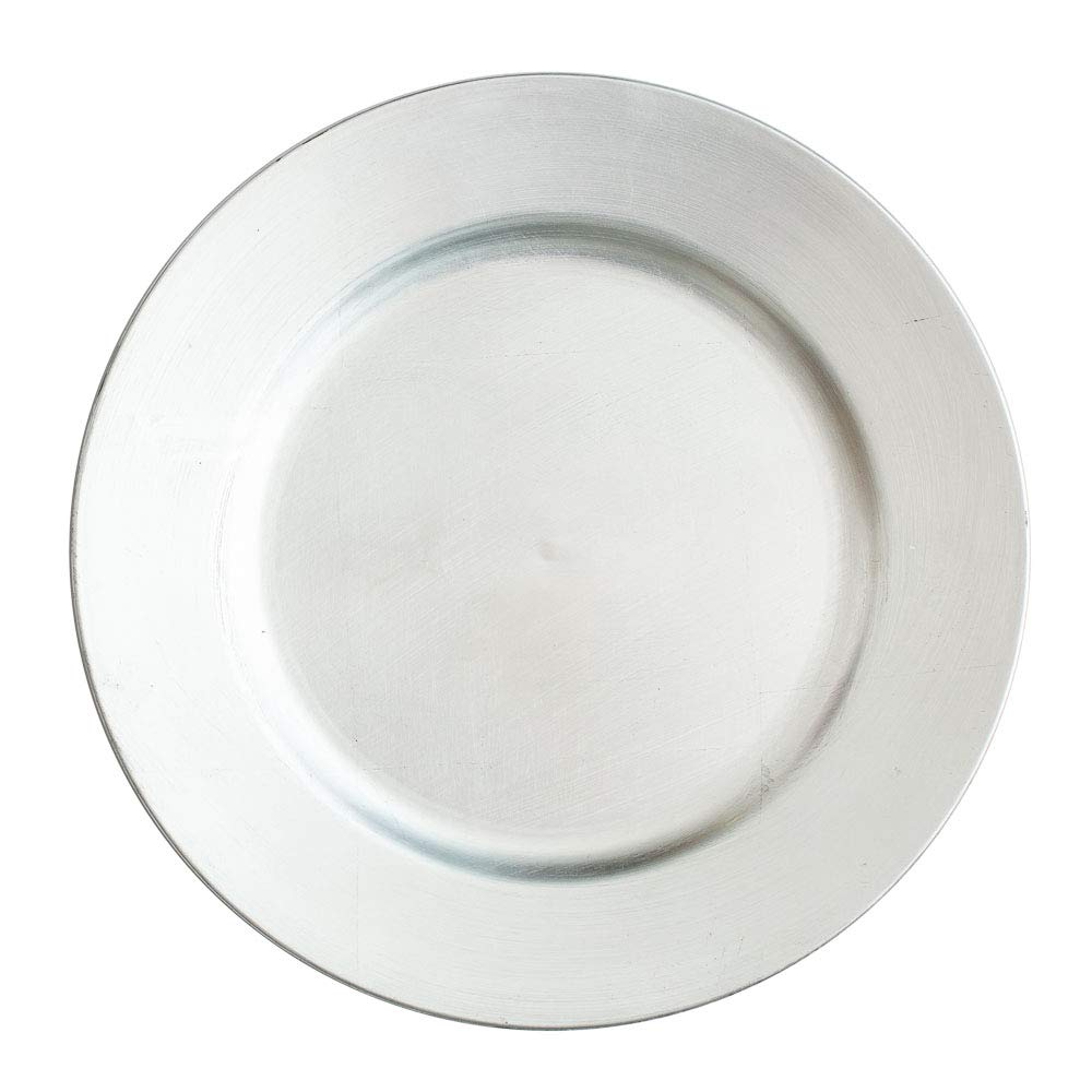 Richland Round Acrylic Charger Plates 13 Set of 24 Marble