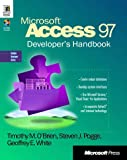 Microsoft Access 97 Developers Handbook: With CDROM (Solution Developer Series)