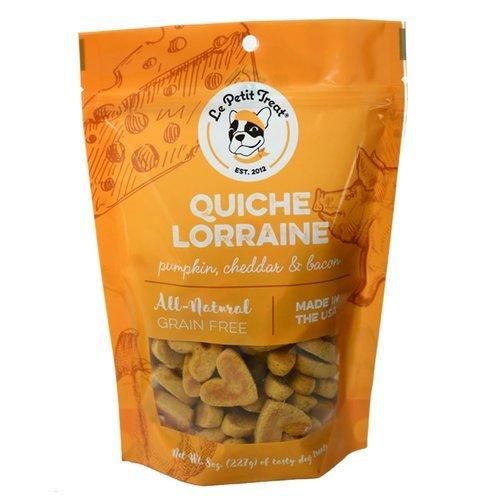 Le Petit Treat Quiche Lorraine Grain-Free Dog -
