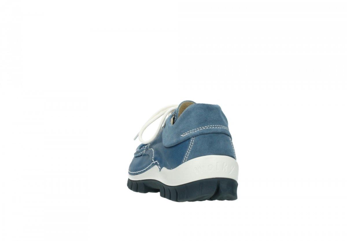Wolky Fly 04701 Blau Damen Halbschuhe 20890 Vintage Blau 04701 Leder 55eb93