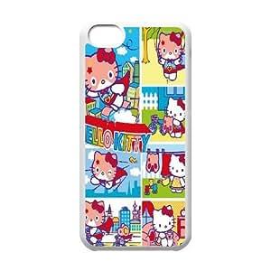 Steve-Brady Phone case Cute Cartoon Hello Kitty For iphone 4s Pattern-16