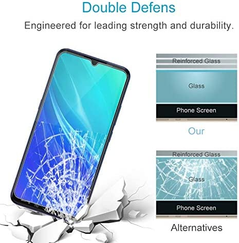 LGYD for 50 PCS 0.26mm 9H 2.5D Tempered Glass Film for Vivo IQOO Pro