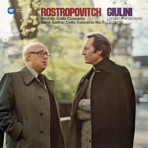 SACD : Dvorak - Saint-Saens - Rostropovich, Mstislav - Dvorak: Cello Concerto / Saint-saens (Japan - Import)