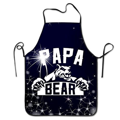 Papa Bear BBQ Kitchen Cooking Apron