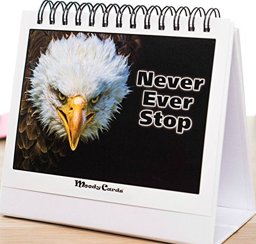 Motivational Quotes - Powerful Wildlife Pictures With Inspirational messages To Get You Focused And Pushing Forward. An Amazing Office Gift, Great for Events & Conferences, Change Someone's Life.