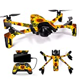 MightySkins Skin for Parrot Anafi Drone – Sunflowers | Protective, Durable, and Unique Vinyl Decal wrap Cover | Easy to Apply, Remove, and Change Styles | Made in The USA Review