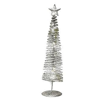 Weihnachtsbaum Metall Spirale.Amazon De Achidistviq Mini Spirale Weihnachtsbaum Stern Lampe Home