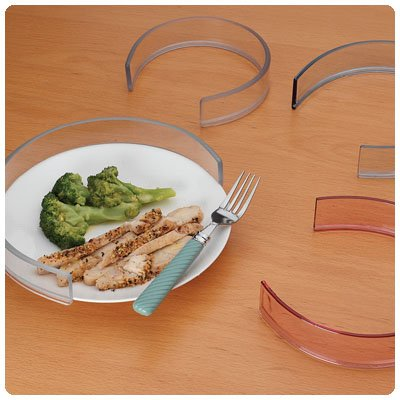 Invisible Food Guard Invisible Food Guard for 8½''-10'' Plates, Package of 25 by Rolyn Prest