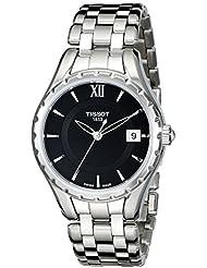 Tissot Womens TIST0722101105800 T-Lady Analog Display Quartz Silver Watch