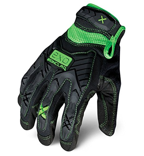 Ironclad EXO-MIG-04-L Motor Impact Gloves, Large by Ironclad