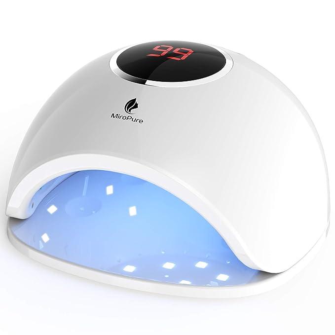 自己在家也可以做美甲了!MiroPure 36W紫外LED指甲灯半价优惠