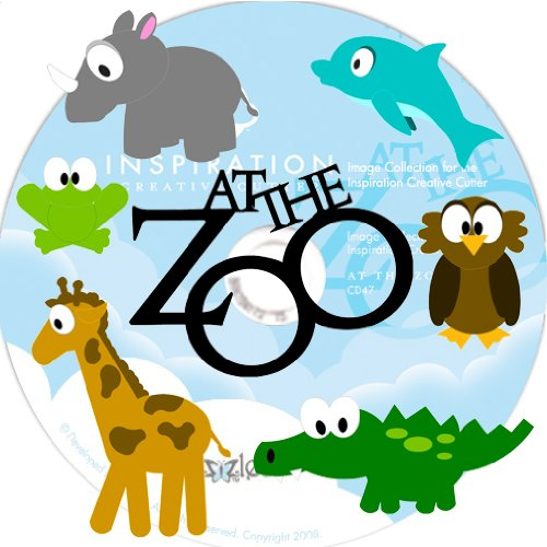 Pazzles CD 47: At The Zoo WPC Cutting Files