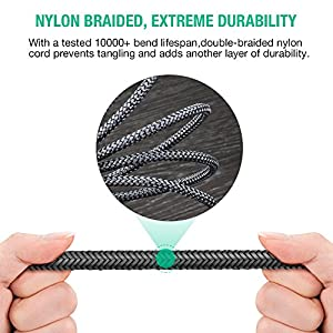 Oldboytech AUX Cable,[2-Pack,4ft,Hi-Fi Sound Quality] 3.5mm Auxiliary Audio Cable Nylon Braided Male to Male AUX Cord for Car/Home Stereos,Speaker,iPhone iPod iPad,Headphones,Sony Beats,Echo Dot(Grey)