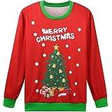 Hsctek Cute Ugly Christmas Sweater Sweatshirt for