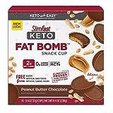 SlimFast Keto Fat Bomb Snack Cup, Peanut Butter