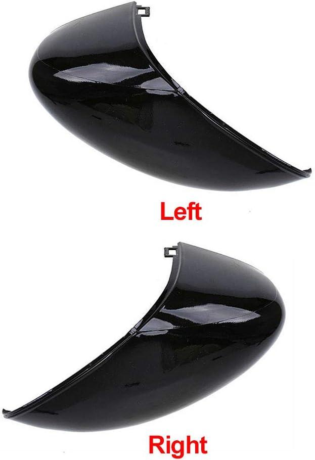 NANAD Cache de r/étroviseur c/ôt/é Passager Gauche//Droite Peint Noir pour Ford Fiesta MK7 2008-2017 Left Voir Image